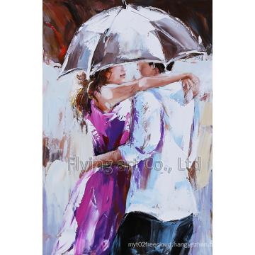 Modern Oil Painting for Hug