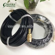 Garantierte Qualität Überlegene schwarze PVC-Schläuche mit Fitting