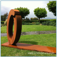 New Design Outdoor Corten Steel sculpture