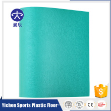Vinyl Plastic Flooring Used Gymnastics Fitness center mat