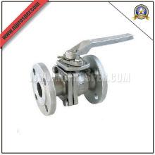 Válvula de esfera de aço inoxidável 2PC Flange (YZF-V12)