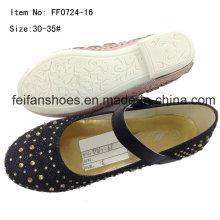 Mode Mädchen Tanz Schuhe Prinzessin Schuhe Party Schuhe (FF0724 -16)