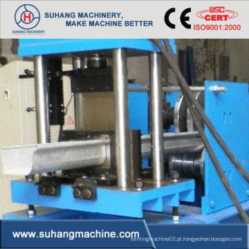 Máquina formadora de rolo de calha de alumínio