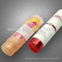 Große Kapazität Kunststoff-Rohr Verpackung für Kosmetik