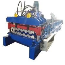 Máquina formadora de rollos de chapa esmaltada automática