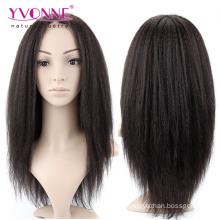 Yaki perruque brésilienne en dentelle de cheveux