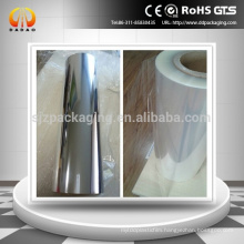 Corona Treatment Transparent Roll Clear PET Film