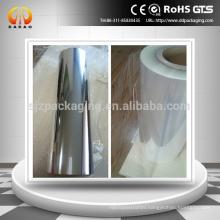 Corona Treatment Transparent Roll Clear PET Film
