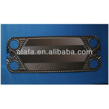 Vicarb V28 related titanium plate for heat exchanger