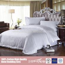 O fundamento do roupa de cama do algodão do baixo preço 60s ajustou-se 200x220
