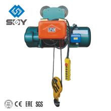 Alzamiento de aire eléctrico de la cuerda de alambre de la venta caliente de China con el CE