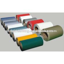 rollo de papel de aluminio coloreado para el embalaje de alimentos