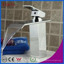 Fyeer Fashion Wasserfall Einhand Bathroom Waschbecken Wasserhahn Mischbatterie