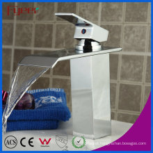 Fyeer Fashion Waterfall Single Handle Bathrooom Basin Faucet Mixer Tap