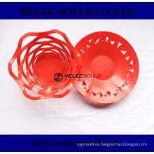 Molde de cesta de lujo de diseño de hogar plástico