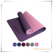 100% TPE Yoga Mat, Yoga Mat TPE, Pilates Mat for Promotion