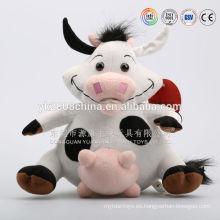 Vacas lecheras rellenas, moo de vaca lechera de felpa, productos de vacas lecheras