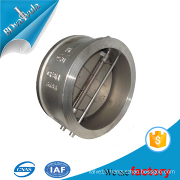 Casted steel standard Wafer Butterfly Check Valve BD VALVULA