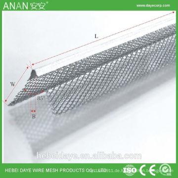 Aluminium-Putzwinkel Trockenbau-Konstruktion 3-seitige Eckschutz