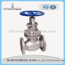 Vanne de vanne ANSI en acier inoxydable DN150