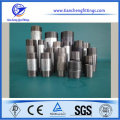 Stainless steel pipe nipples for solar water heater and water tank, Double-end External thread