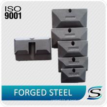 Gancho de levantamento certificado ISO9001 da precisão do CE para a peça da empilhadeira