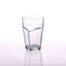 Gobelet en verre transparent carré de 13 oz