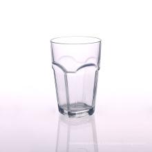 Copo de vidro bebendo claro quadrado em 13oz