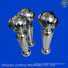 Polished stainless steel investment casting, investment casting wax