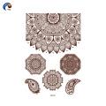 Nuevo diseño YinCai de plantilla de henna