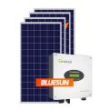 Bluesun solaire 2kw sur le système de panneaux solaires de grille 5KW 5000W 5000WP système d'énergie solaire de la maison