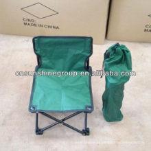 Camping dobrável cadeira relaxante com lona