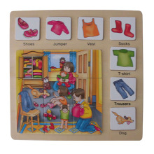 Educational Wooden Puzzle Wooden Toys (34774)