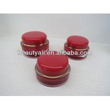 Tarro de cosméticos de acrílico para envases cosméticos