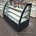 back loading glass door drink display refrigerator showcase