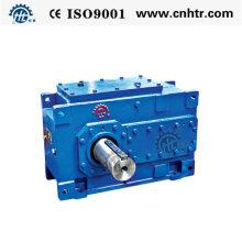 Reductor de par grande con caja de engranajes helicoidales paralelos serie Hh