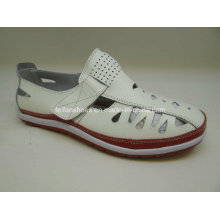 Lates Women′s Leisure Leather Shoes Casual Leather Shoes (SF003)