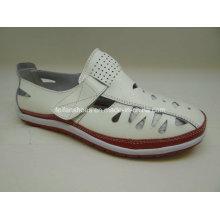 Lates женщин досуг кожаные ботинки Повседневный кожаные ботинки (SF003)