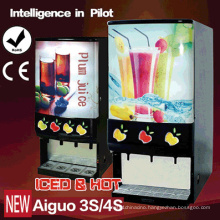 Iced & Hot Concentrated Juice Dispenser Leader Top Coffee Machine Aiguo 3s/4s