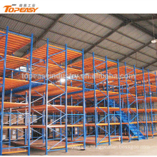 heavy duty 2 tier steel mezzanine platform floor for warehouse storage