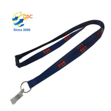 Silk Printing Logo Custom Promotional Neck Strap Heat Transfer Lanyard