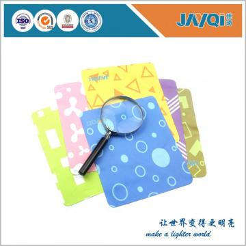 Microfiber Glass Cleaning Cloths with Embossed Logo