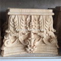 Hand Carved Wood Capitals