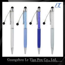 Einfacher Entwurfs-Förderungs-Geschenk-Kugelschreiber mit Kristallen
