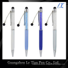 Bolígrafo de regalo de promoción de diseño simple con cristales