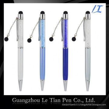Простой дизайн подарок Промотирования Шариковая ручка с кристаллами