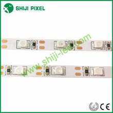 60 LEDs / m 2835 smd levou epistar chip endereçável branco led strip 2835 led strip
