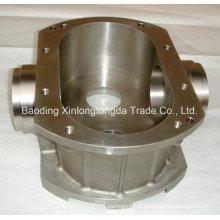Carcaça de fundição de aço inoxidável de usinagem CNC