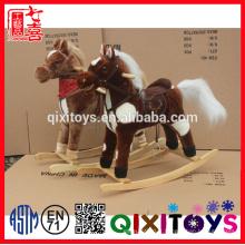 enfants balançoire cheval cheval à bascule musical jouet avec prix usine
