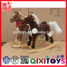 as crianças balançam o brinquedo musical do cavalo de balanço do cavalo com preço de fábrica